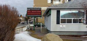 Custom Homes Sales Office, Calgary