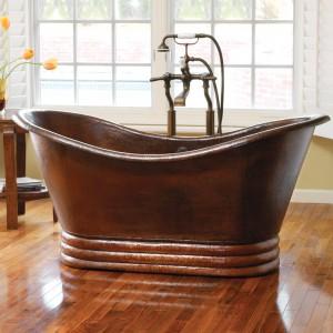 72 inch copper tub