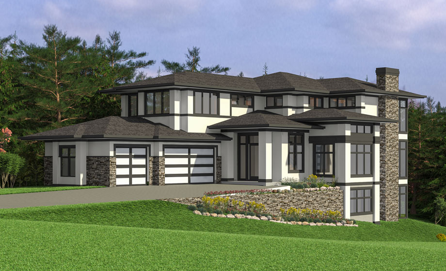 The Oxford is a new luxury home in Calgary